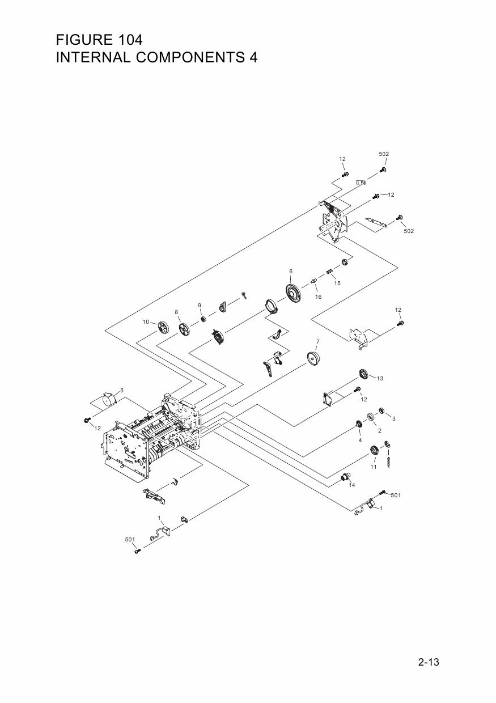 canon fax l380s l390 parts and service manual